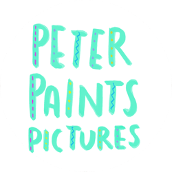 Logo for Peter Paints Pictures