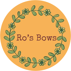Logo for Ro's Bows