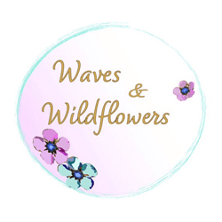 Logo for Waves and Wildflowers