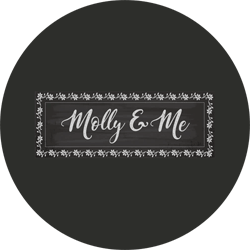 Logo for Molly and Me Candles