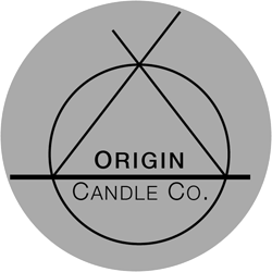 Logo for ORIGIN Candle Co