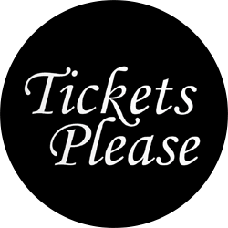 Logo for TICKETS PLEASE