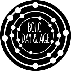 Logo for Boho Day and Age