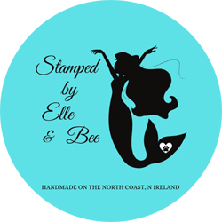 Logo for Stamped by Elle and Bee