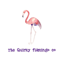 Logo for The Quirky Flamingo