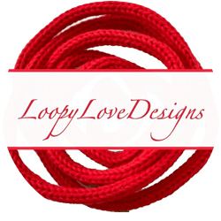 Logo for Loopy Love Designs